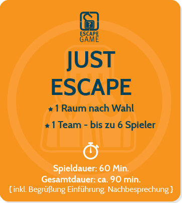 Just Escape Firmenevent Escape Game