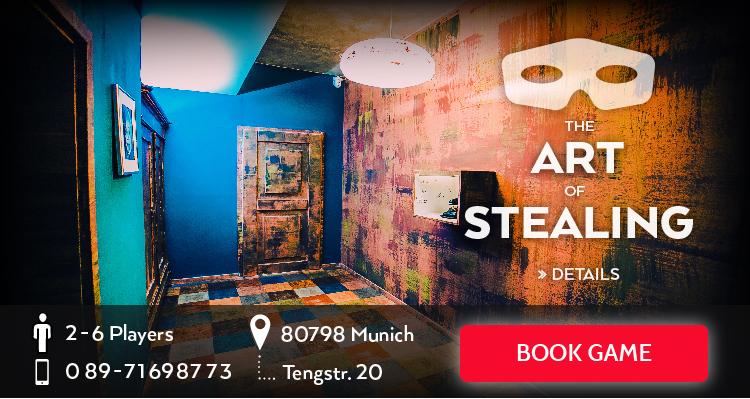 München Escape Game The Art of Stealing en