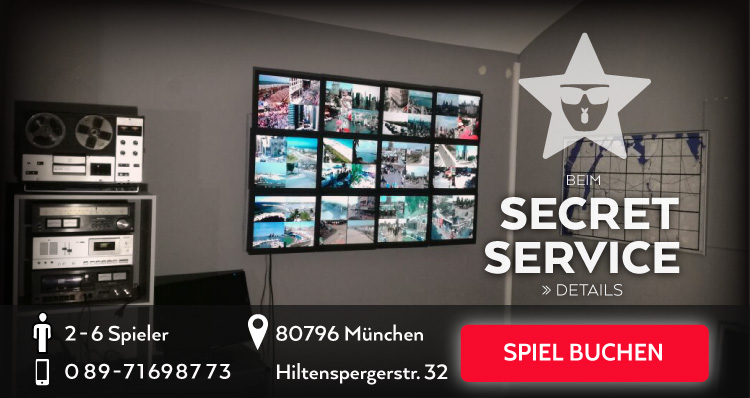 Beim Secret Service Escape Game