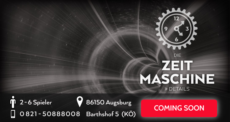 Die Zeit Maschine Escape Game Coming Soon