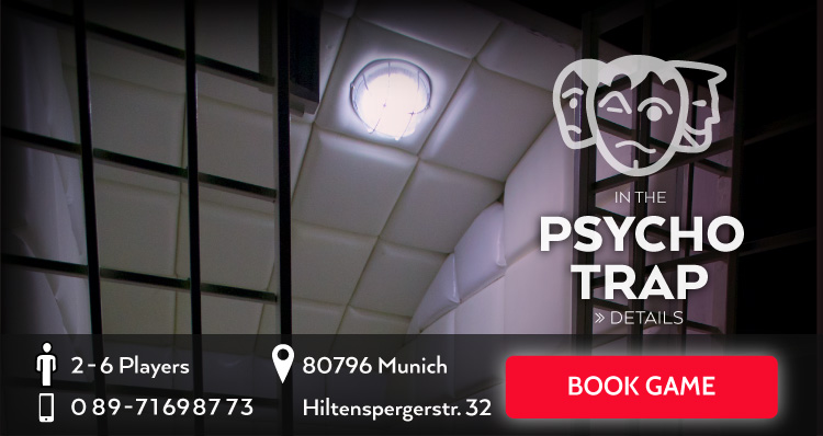 Psychotrap Exit the Room Game Munich