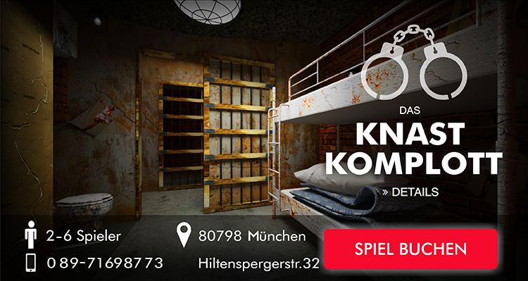 Knast Komplott bei Escape Game München