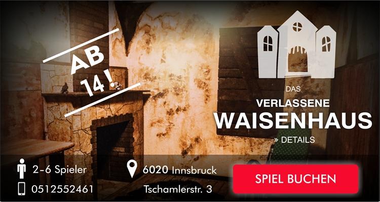 Escape Room Game Innsbruck - Das verlassene Waisenhaus