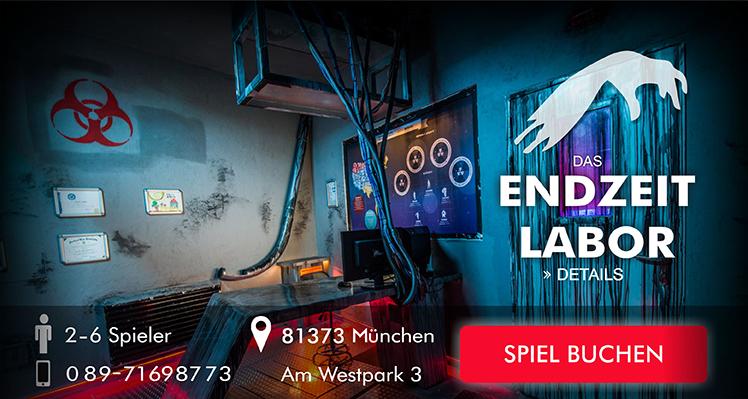 Escape Game München Das Endzeitlabor