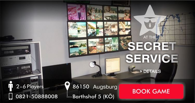 escape game Augsburg secret service