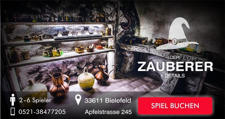 Escape Game Bielefeld: Der Zauberer