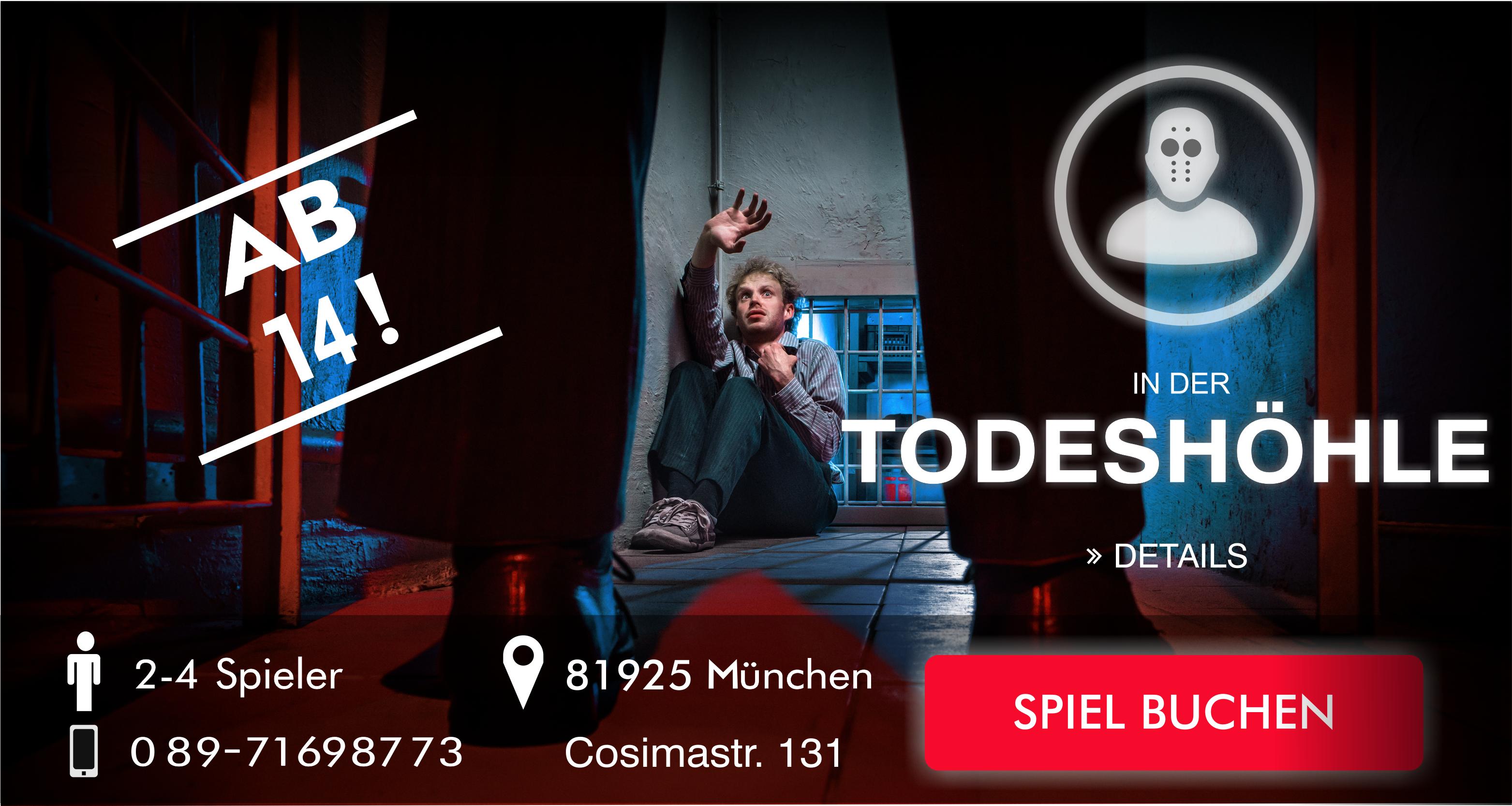 Escape Game München die Todeshöhle