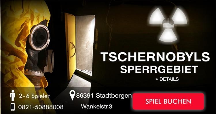 Tschernobyl Sperrgebiet Escape Game Augsburg