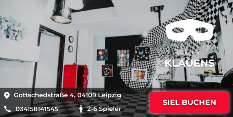 Escapegame Leipzig Die Kunst des Klauens