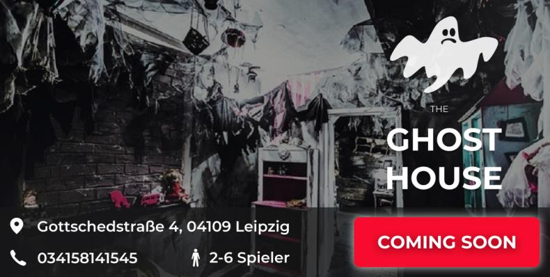 escape game leipzig the ghost house