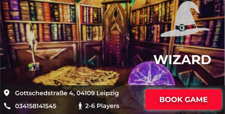 escape game leipzig the wizard