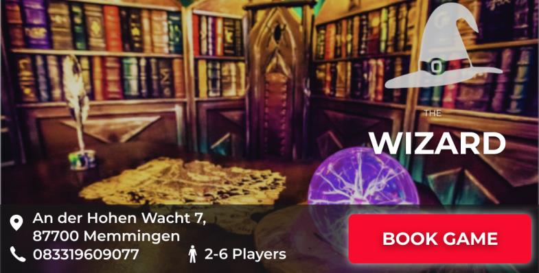 escape game memmingen the wizard