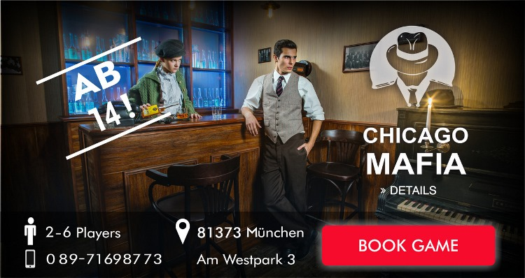 Chicago Mafia Escape game munich