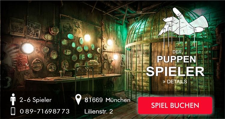 Der Puppen Spieler Escape Game München
