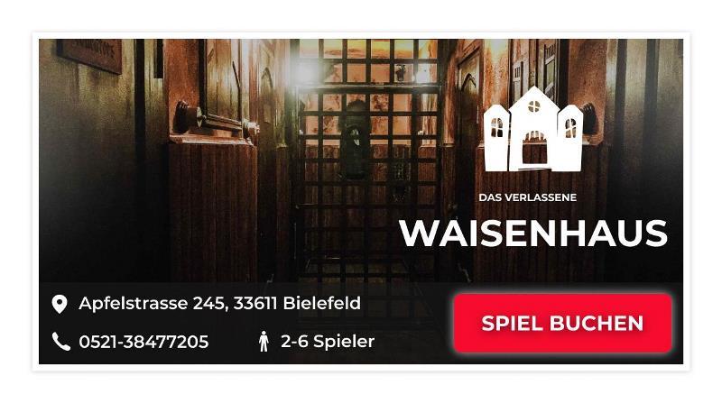 das verlassene Waisenhaus Escape Game Bielefeld