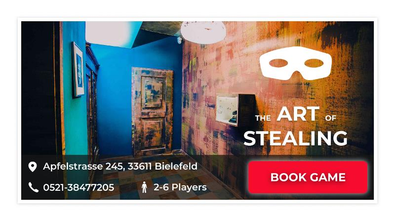 Escape Game Bielefeld The Art of Stealing