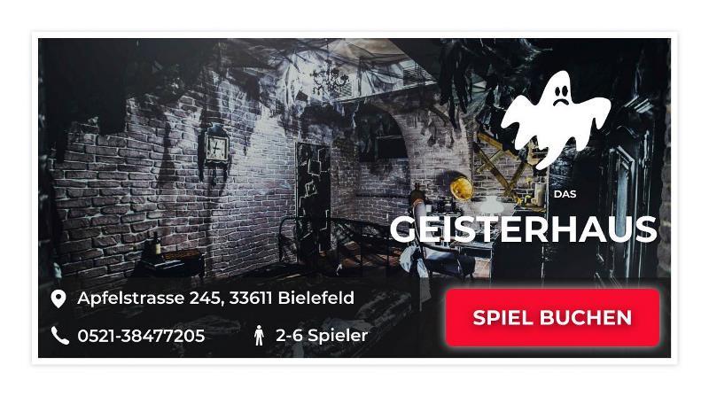Escape Room Bielefeld Game: Das Geisterhaus