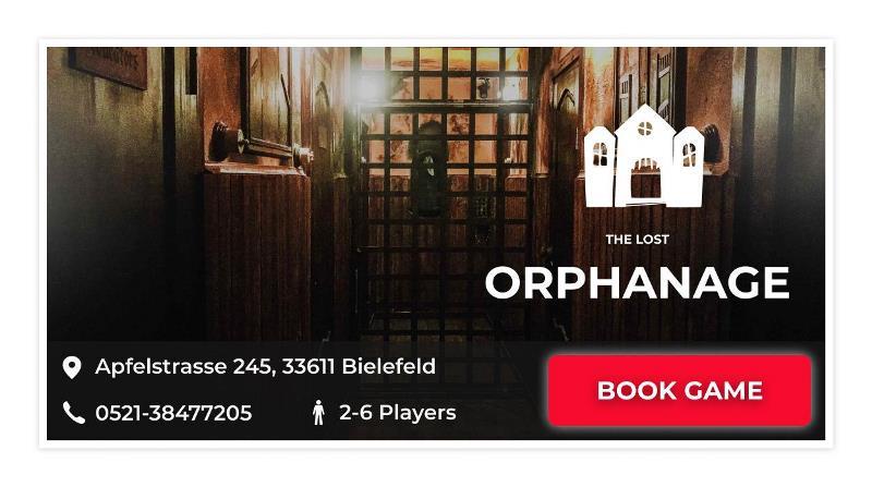 the lost orphanage escape game Bielefeld